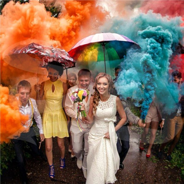 Professional Color Smoke Bomb Fountain Sticks