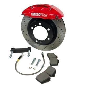 Stoptech Brake Kit >> Stoptech Tr 340 4 Front Big Brake Kit Fits 2000 06 Tundra