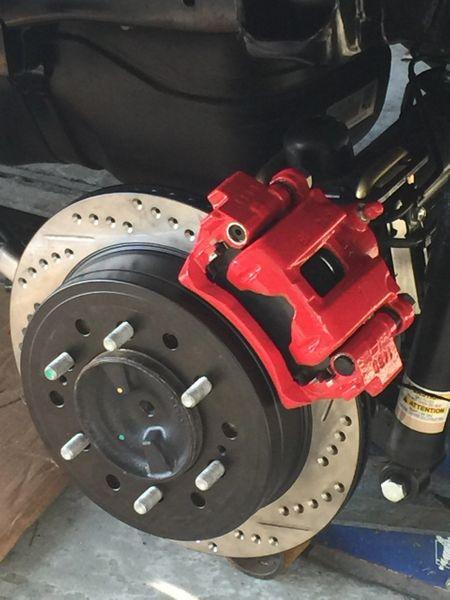 Rear Brake Pads >> Pro Series II Rear Disc Brake Conversion Kit 2005-17 ...