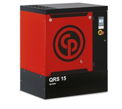15 HP, CHICAGO PNEUMATIC ROTARY SCREW AIR COMPRESSOR BASE MOUNT, 208/230/460/3/60, QRS 15 HP 150PSI