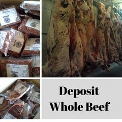 Deposit for Whole Beef