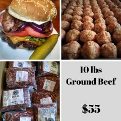 10 lbs Ground Beef