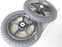 Wheel and axle package for King-Stand Rogue 365 series