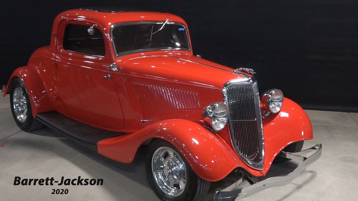 Barrett-Jackson Car Collector Auction has classic cars including restorations and a vintage car collection.