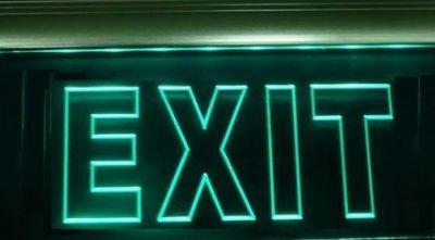 Exit LED Signage (SF)