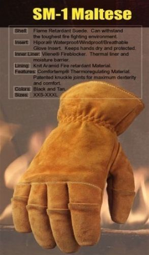 Swanny Fire Gloves Large TAN
