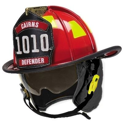 CAIRNS 1010 DEFENDER FIRE HELMET