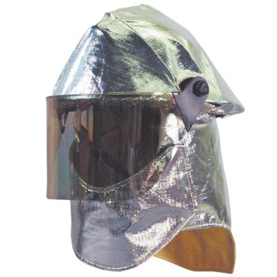 Fire Helmet w/Aluminized Cover LITE FORCE PLUS
