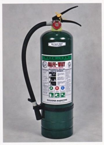 HCFC-123 FIRE EXTINGUISHER 10 lbs. SW