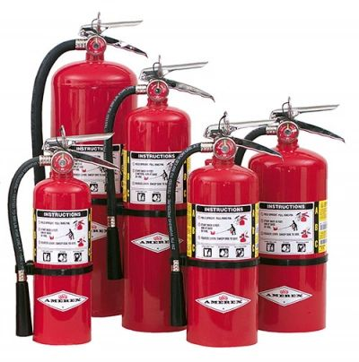 Amerex 10 lbs. B456 ABC Multi-Purpose Stored Pressure Dry Chemical Extinguisher