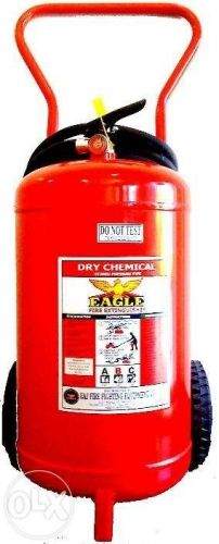 Fire Extinguisher 100 lbs. dry chemical