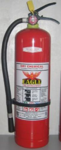 Fire Extinguisher 20 lbs. Dry Chemical 9 Kgs.