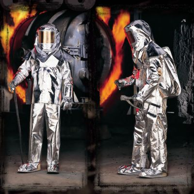 LAKELAND 500 Series APPROACH SUIT ( Aluminized Glass with Moisture Barrier)