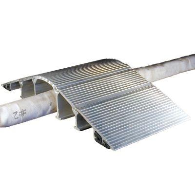 """Hose Bridge Hose Ramps 16"""" Aluminum Pair"""