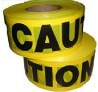 """Caution Tape 3"""" X 500 METERS"""