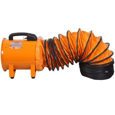 """Smoke Ejector 24"""" Yuho Electric Axial blower with 24"""" x 5m Ducting Hose"""