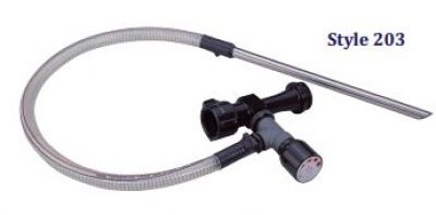 """Protek In-Line Eductor 95 GPM 203-95 2.5"""" Inlet x1.5"""" Outlet"""