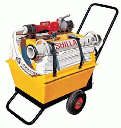 SHILLA SL-2100 (120LITER) Mobile Foam Cart