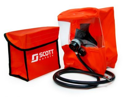 Escape use compressed oxygen self rescuer self-rescue respirator UP TO 120 MINS