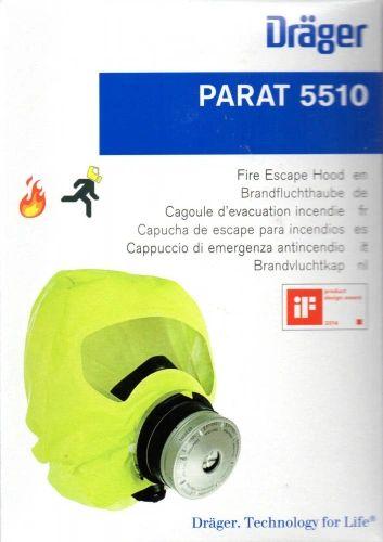 Dräger Parat C Brandfluchthaube Schutz auch für Kinder - PARAT 5510