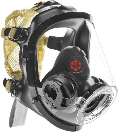 SCOTT AV3000HT MASK ONLY LECB AV3000HT LECB, S/M/L Size, Kevlar head harness with left Epic comms bracket