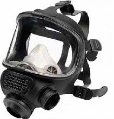 SCOTT 5513190 Promask Positive Pressure Facemasks, LQF, rubber head harness. Medium Large
