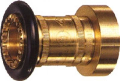 Giacomini A7B Adjustable Fog and stream nozzle brass 2.5""