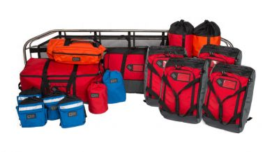 ROPE RESCUE KIT WITH 4 HARNESSES
