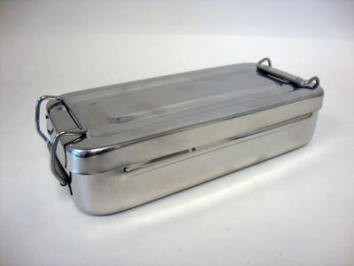 STAINLESS-STEEL INSTRUMENT BOX