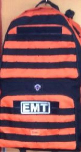 EMT Rescue Backpack with O2 Delivery System