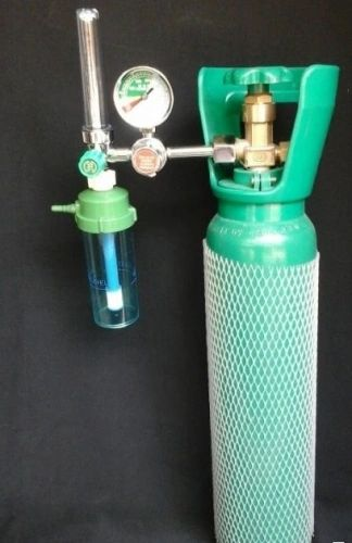 5 lbs Oxygen Tank with regulator