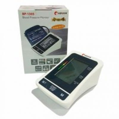 BP-1305 BLOOD PRESSURE MONITOR ADVAN LARGE LCD