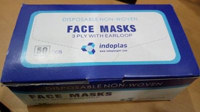 FACE MASK 3 PLY WITH EARLOOP