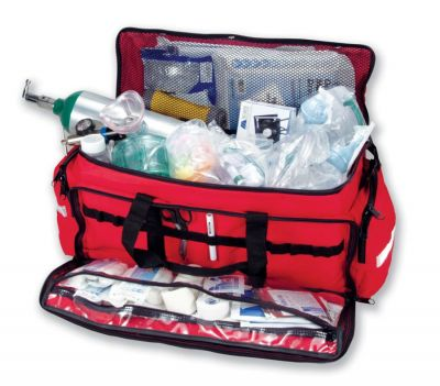 BH040 Large EMS Duffle with Supplies, Without Cylinder and Regulator