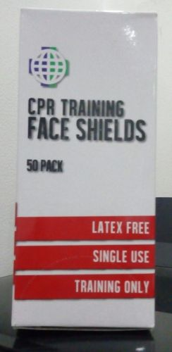 CPR Training Face Shields (50 pack)