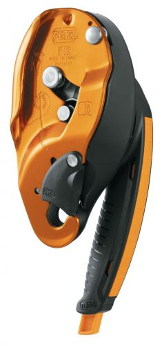 I'D® S Self-braking descender with anti-panic function