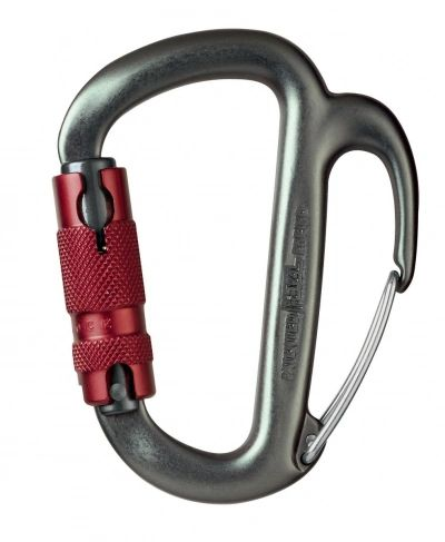 FREINO CARABINER WITH FRICTION SPUR