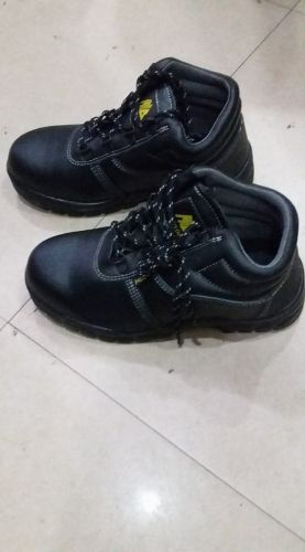 Safety Shoes Rain Proof Leather Tongue
