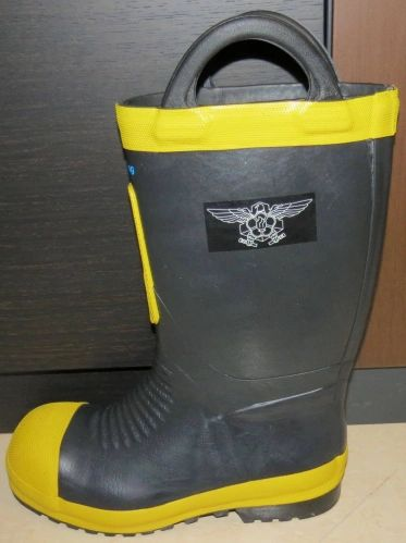 San Cheong Fire Boots Size 275 8.5 US