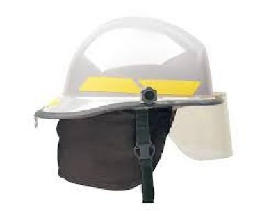 Pacific Fire Helmet F3D White
