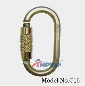 C16 Automatic Twistlock Carabiner Steel