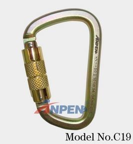 C19 Automatic Twistlock Carabiner Steel