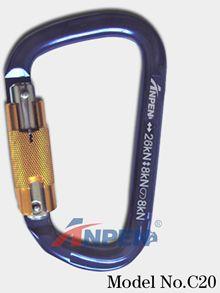 C20 Automatic Twistlock Carabiner Aluminym
