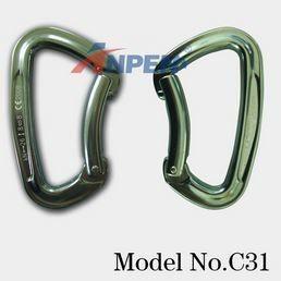 C31 Non-Locking Carabiner Aluminum