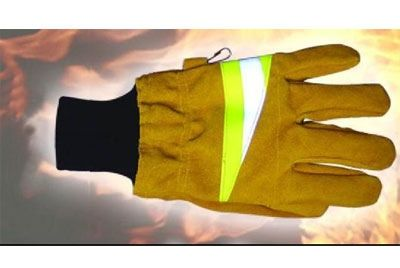 Majero Fire Gloves EN659 Tan/Yellow Medium