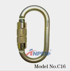 Anpen C16 Automatic Twistlock Carabiner Steel