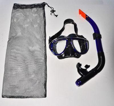 Allwell Mask & PVC Snorkel Set