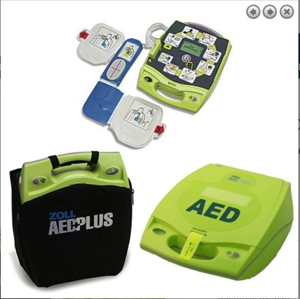 Zoll AED (Automated External Defibrillator) Plus™
