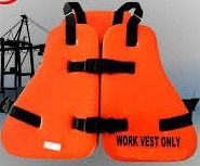 Inventory Item Marine PVC Working Life Jacket