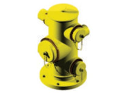 Fire Hydrant 150mm6'' (3ways) Commercial Type